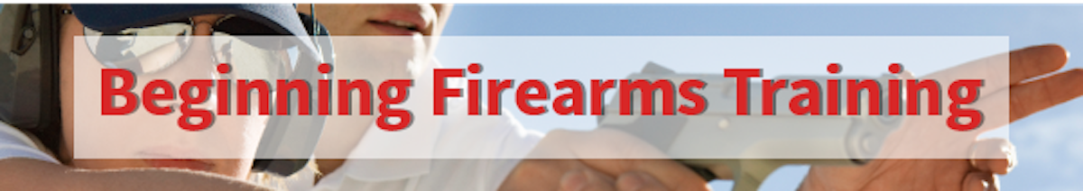 Beginner Firearms Training Los Angeles