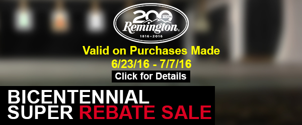 Super Rebate Sale Remington