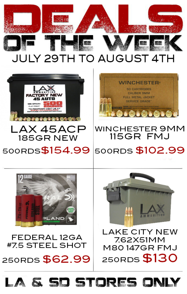 Ammo Deal of the Week! | LAX Range